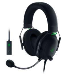 Razer BlackShark V2 Wired Gaming Haedset with USB Sound Card 【行貨保養】