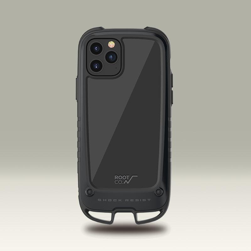 日本ROOT CO.Shock Resist Case +Hold iPhone 12/Pro/Max/Mini Case