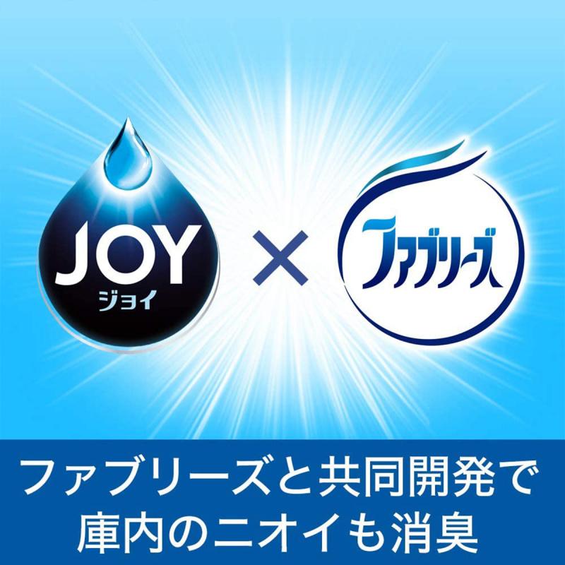 日版Joy W除菌酵素洗碗機專用洗碗粉 無加添香味特大補充裝 930g【市集世界 - 日本市集】