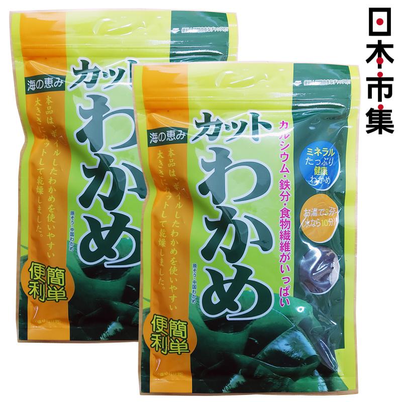 日版 日高食品 低鹽乾切海帶 40g (2件裝)【市集世界 - 日本市集】