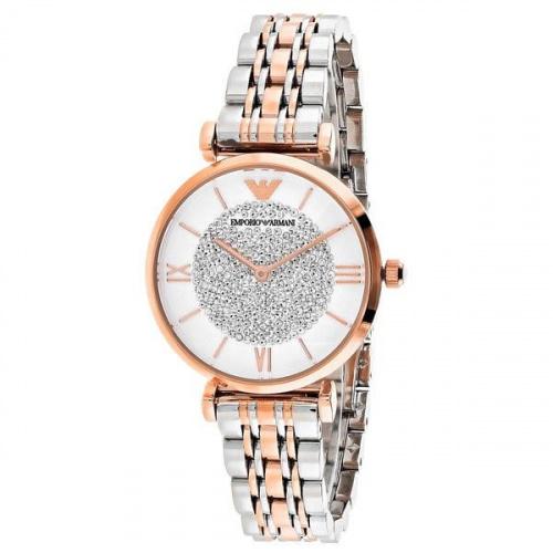 Emporio Armani 不銹鋼金色腕錶女裝手錶 (AR1926)