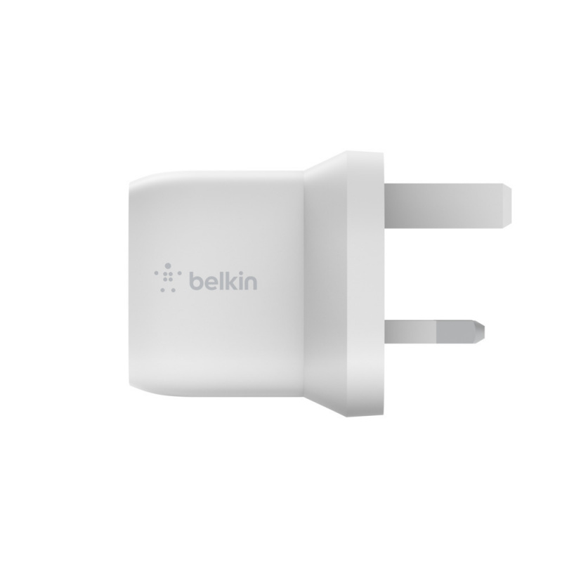 Belkin BOOST↑CHARGE™ 30W USB-C GaN 家用充電器 [WCH001myWH]