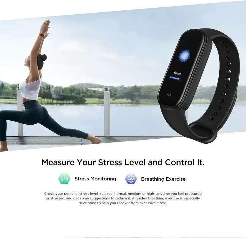 Amazfit Band 5⛹️🤾🚵♂️ 運動手環 內置血氧監測、支援 Alexa 語音助理