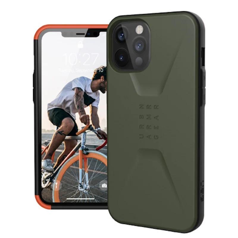 UAG iPhone 12/mini/Pro/Pro Max・CIVILIAN 耐衝擊簡約保護殼