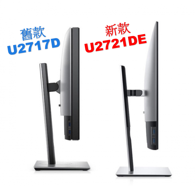 "Fast Delivery USB-C 99%SRGB IPS 27"" Ultra thin Bezel - Dell U2721DE - Replace U2719DC (Old Model)"
