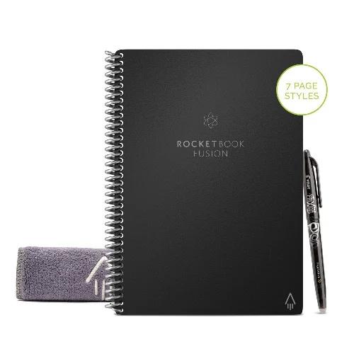 Rocketbook Fusion Executive A5 可循環再用雲端筆記本