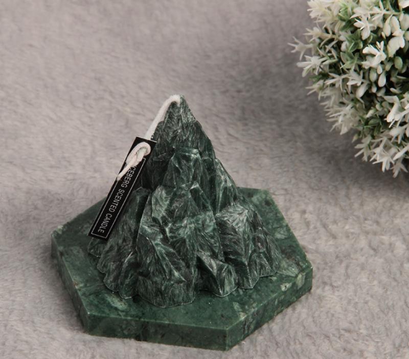 【寧神香薰蠋】The Apls 山脈型冰花蠟手工香薰蠟燭 連禮盒