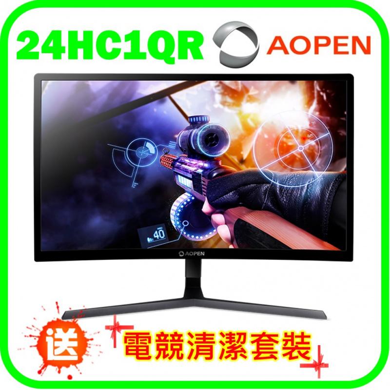 """Aopen 23.6"""" 曲面電競顯示器 (24HC1QR P)"""