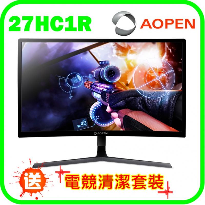 """Aopen 27"""" 曲面電競顯示器 (27HC1R P)"""