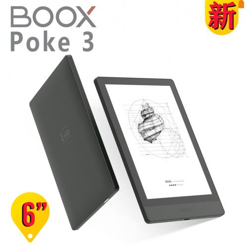 """BOOX Poke3 6"""" Eink Android 閱讀器"""