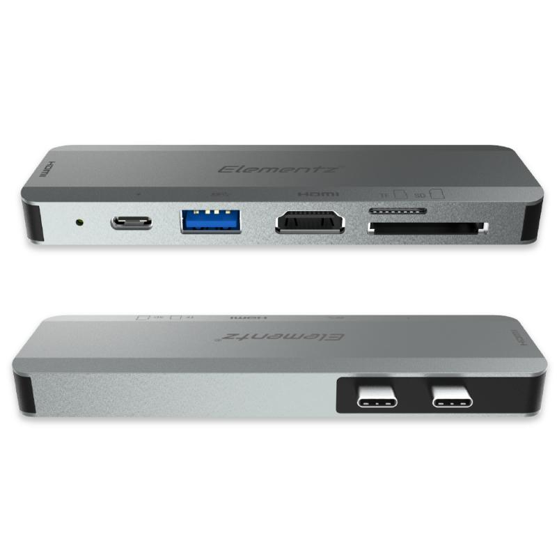 Elementz Type-C 雙HDMI 6 in 2擴展器[MB-602]