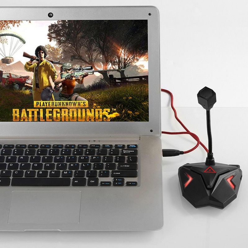 USB Gaming Microphone/Omnidirectional /Adjustable/ Studio Mic/USB 電腦/電競/遊戲收音咪