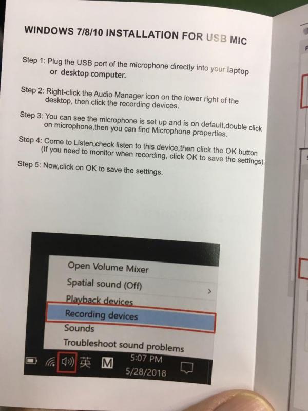 USB Gaming Microphone/ Desktop Condenser Recording/ LED Indicator /USB Connection /Play Games (blue )/型格/摺合/可調角度/Led/電競收音咪
