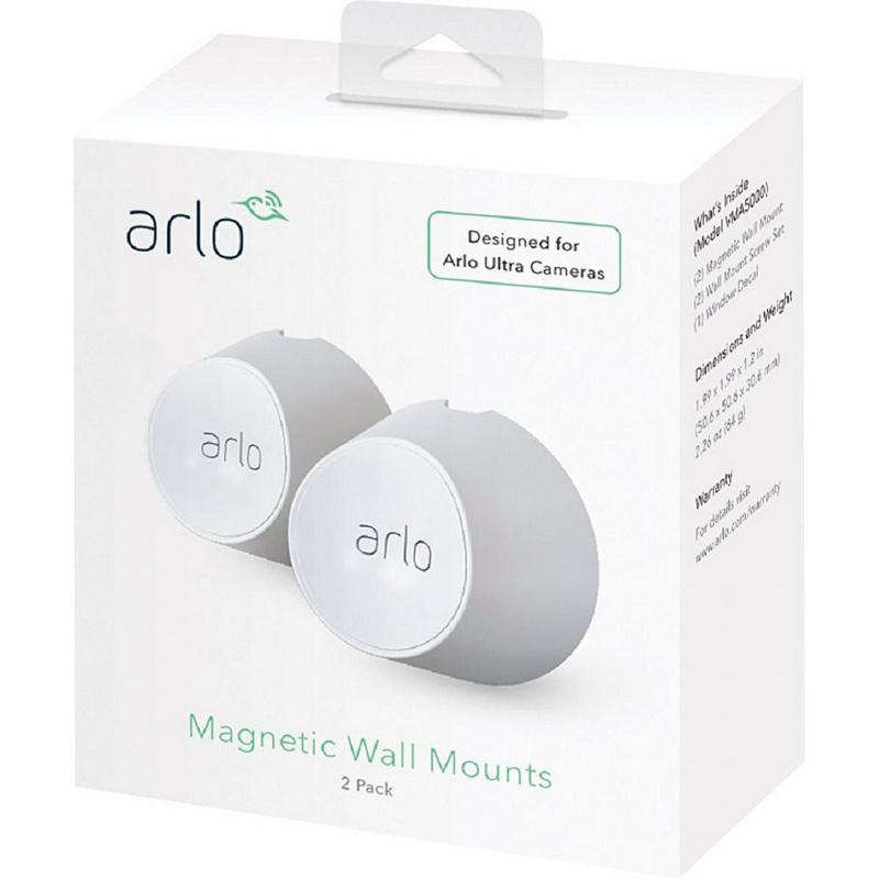 Netgaer Arlo Ultra & Arlo Pro 3 Magnetic Wall Mounts 防水磁吸壁掛架 (2 Pack) (VMA5000)