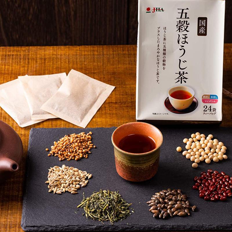 日本 ゼンヤクノー 五穀焙茶 (24包) 96g【市集世界 - 日本市集】