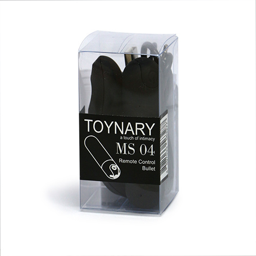 Toynary MS04 Remote Control Bullet - Black 小型遙控充電震蛋 - 黑色