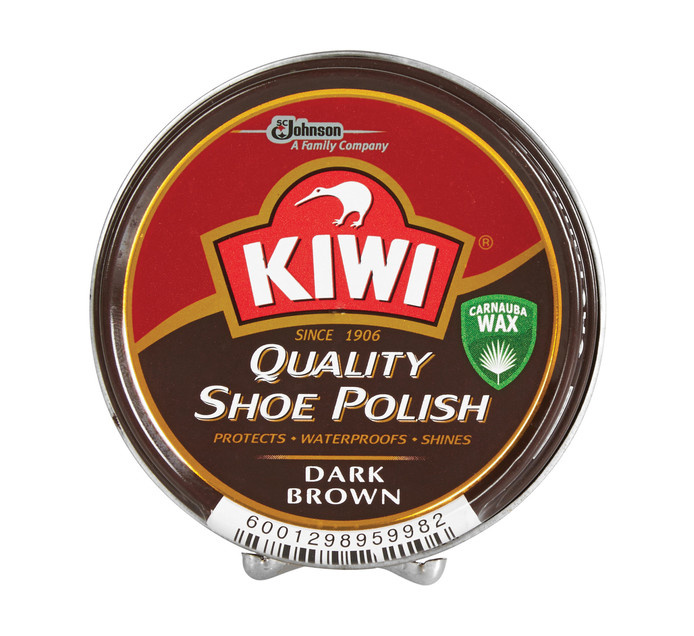 KIWI 鞋油 深棕色100ML
