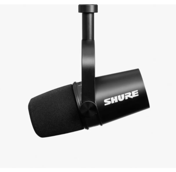 Shure MV7 XLR/USB 咪 仿照當年 Michael Jackson 愛用咪高風設計🎙[2色]