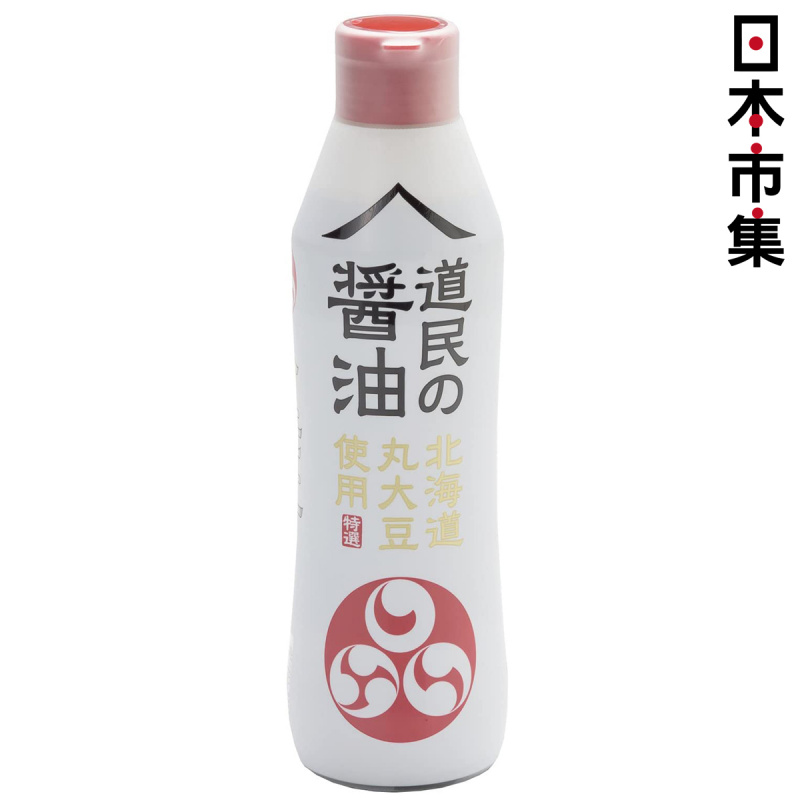 日本 道民の醤油 北海道 大豆味醬油 450ml【市集世界 - 日本市集】