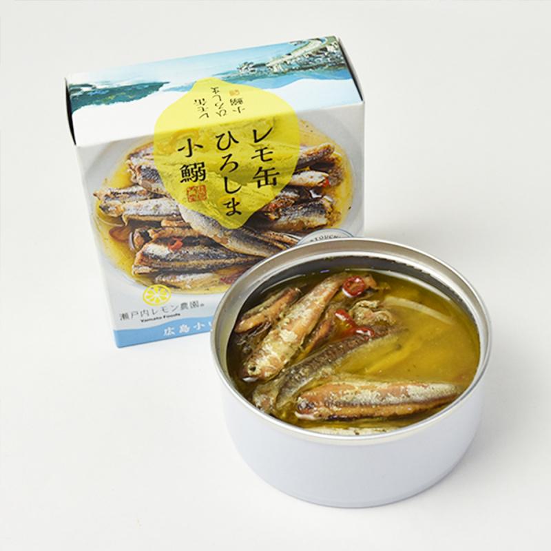 日本 瀨戶內檸檬農園 藻鹽檸檬風味 沙甸魚 85g【市集世界 - 日本市集】