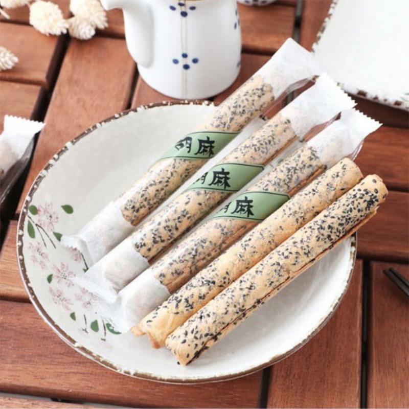 日本 北海道名物《胡麻棒》植物糖 芝麻蛋卷【市集世界 - 日本市集】