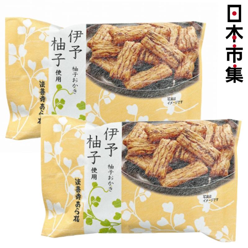 日本 伊予 柚子風味米餅 (1包6片) (2件裝)【市集世界 - 日本市集】