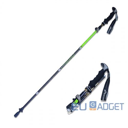 Paceleader 5節碳纖伸縮折疊行山杖 [2色]