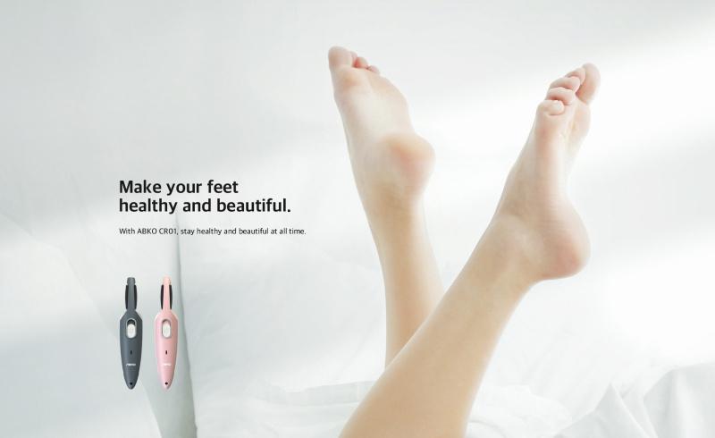 ABKO - [韓國品牌] 充電式電動 磨皮機 CR01