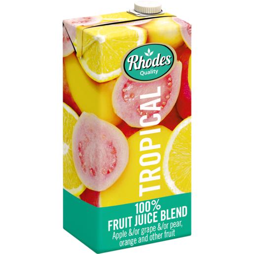 RHODES全天然100%熱帶水果風味混合果汁 1升裝(平行進口)