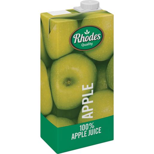 RHODES全天然100%蘋果味混合果汁 1升裝(平行進口)