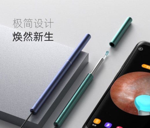 Bebird K10 有線智能可視無線採耳 2色 ( 只支援 Android OTG Type-C / micro-USB 電話)