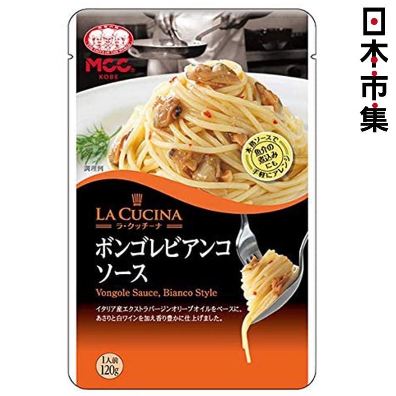 日本Mcc la cucina 意大利特級初榨橄欖油白葡萄酒 意粉醬 120g【市集世界 - 日本市集】