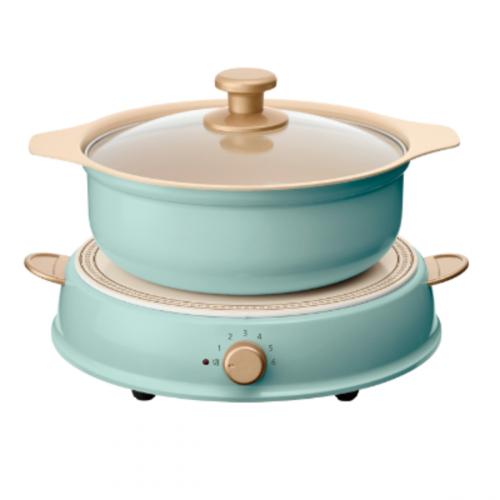 IRIS OHYAMA Ricopa IH 電磁爐 (連陶瓷鍋) 220V IHL-R14C [3色]