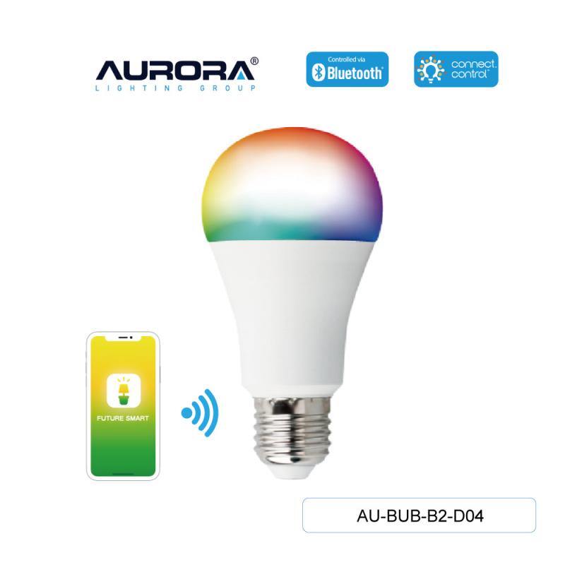 AURORA AU-BUB-B2-D04 8W A60 E27 智能彩色燈膽