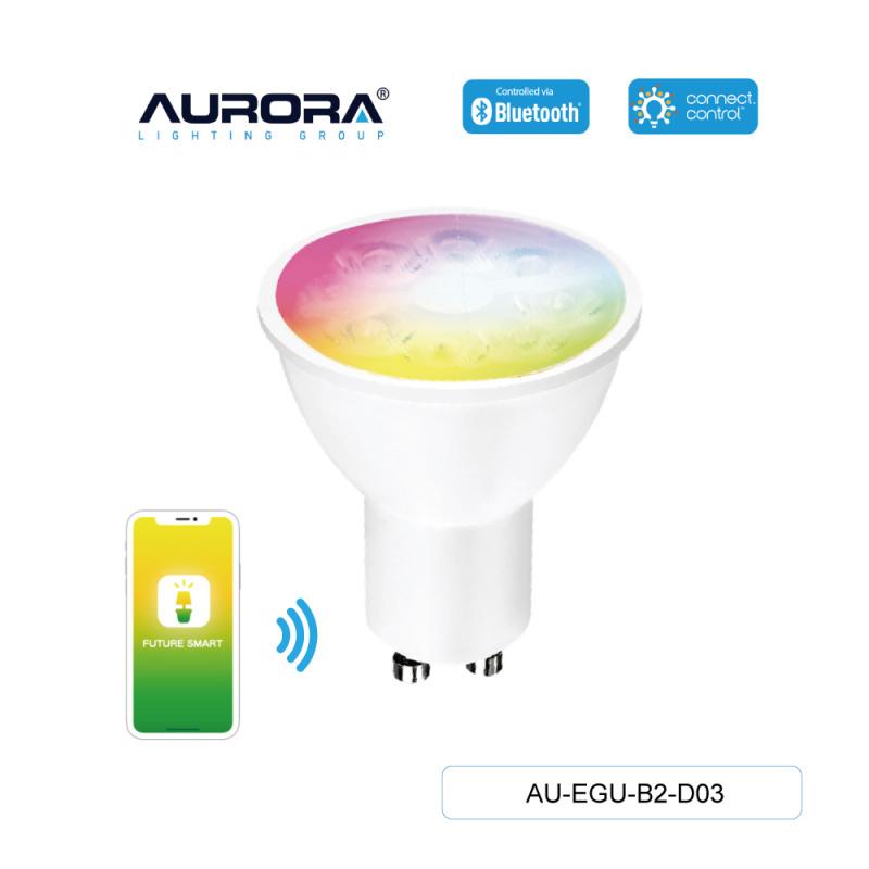 AURORA AU-EGU-B2-D03 5W GU10 智能彩色燈膽