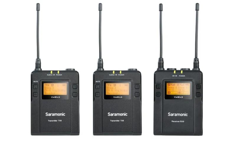 Saramonic UWMIC9 (RX9+TX9+TX9)