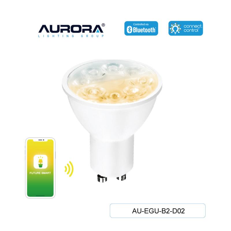 AURORA AU-EGU-B2-D02 5W GU10 智能黃白光燈膽