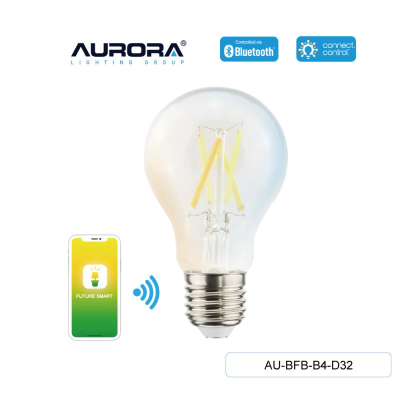 AURORA AU-BFB-B4-D32 4.5W A60 E27 智能黃白光造型燈膽