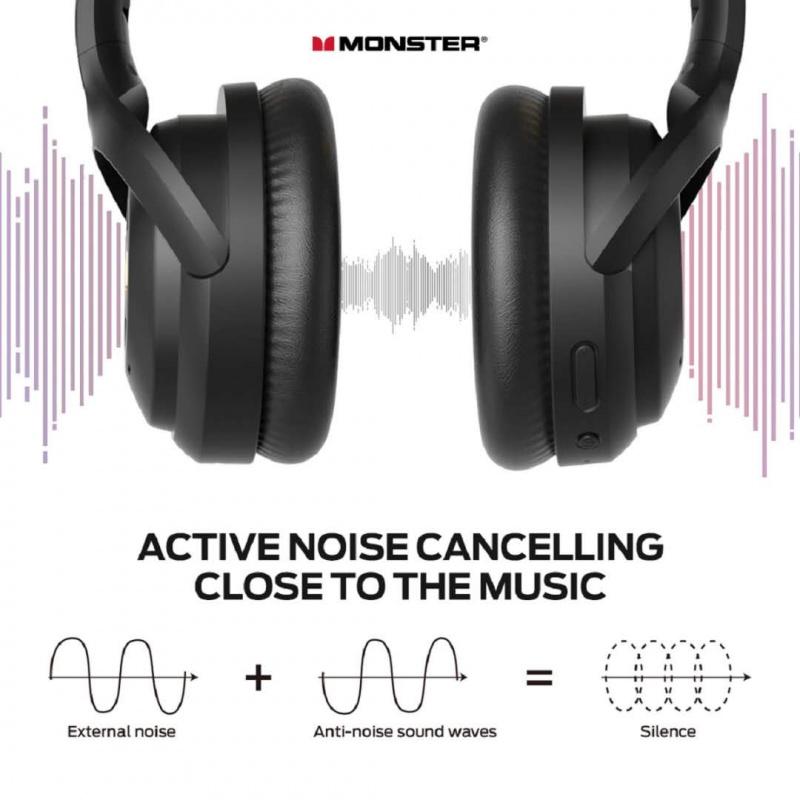 Monster Persona ANC Wireless Headphone 主動式降噪無線耳機 [港澳代理]