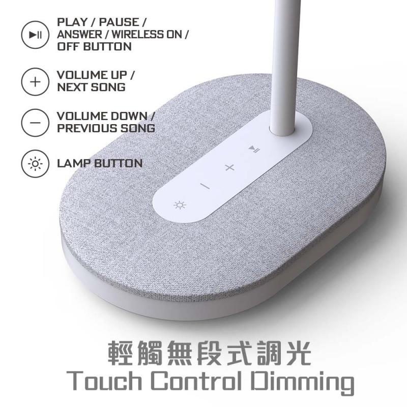 ProMini LEDWS 多功能護目LED檯燈,無線喇叭