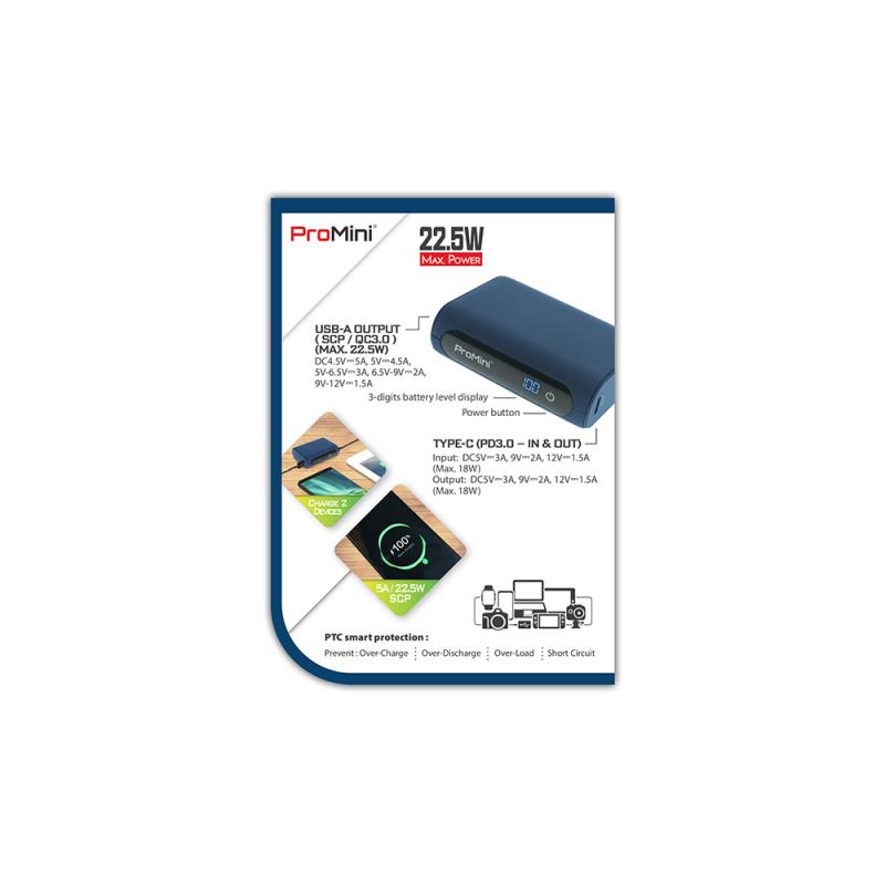 ProMini 10DR 快速充電流動電池