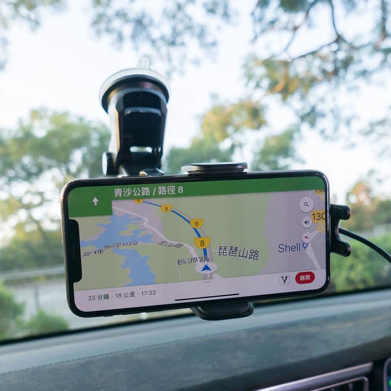 ProMini QiAutoMount 10W 手機無線快速充電車架