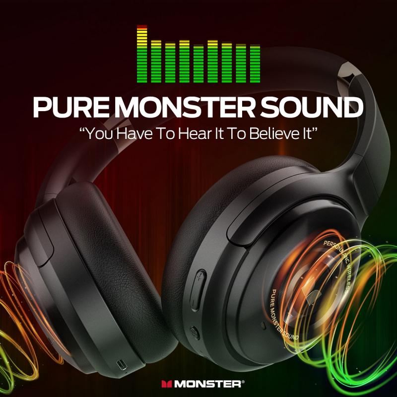 Monster Persona 主動式降噪無線耳機🎶🎶