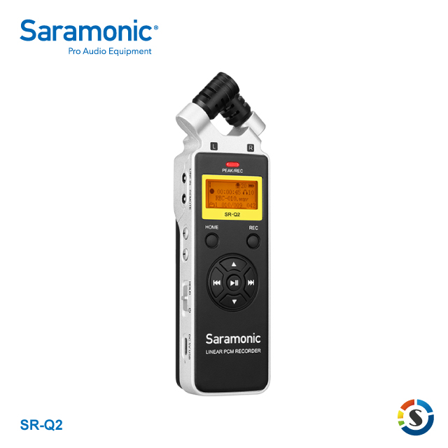 Saramonic SR-Q2 Handheld Audio Recorder 錄音機