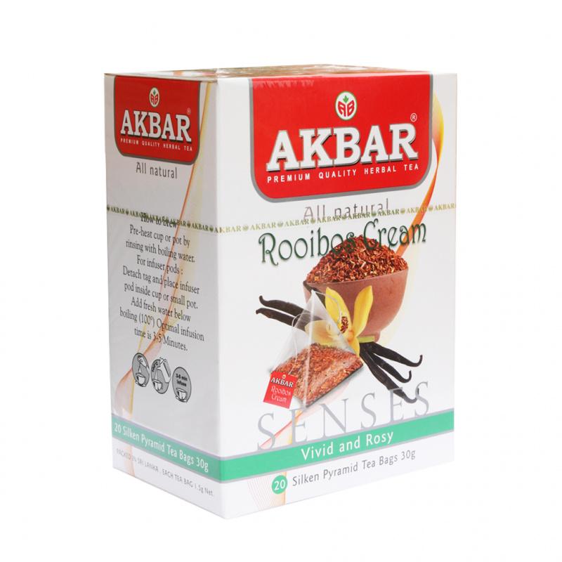 AKBAR 博士茶金字塔型茶包紙盒 20 x 1.5g