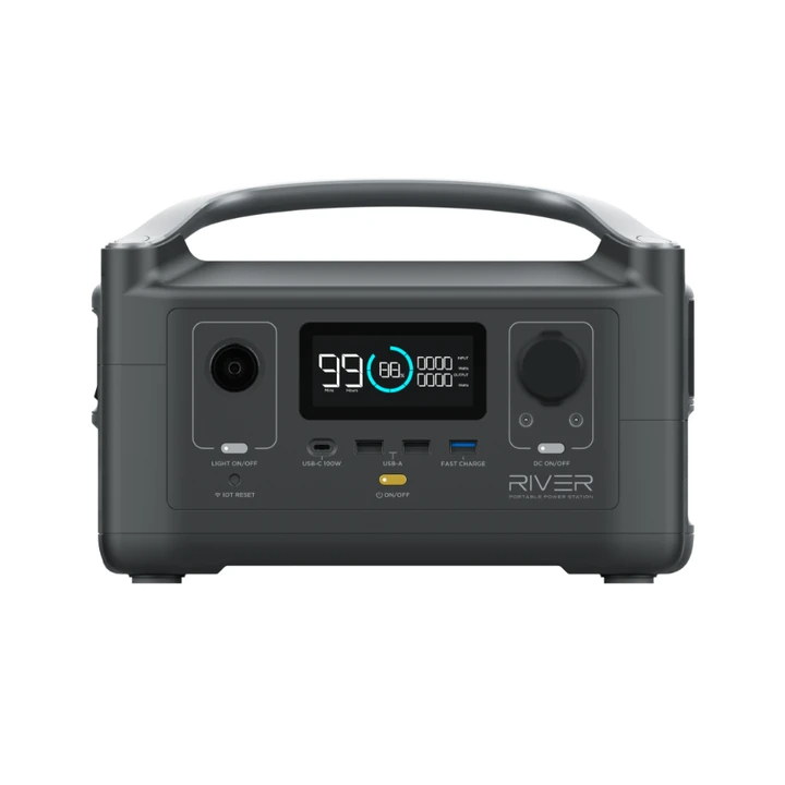 Ecoflow River 600 Powerstation 流動充電器
