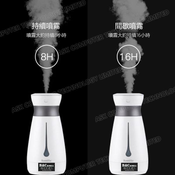 韓國B&C便攜加濕車載補水儀家用噴霧桌面空氣加濕器
