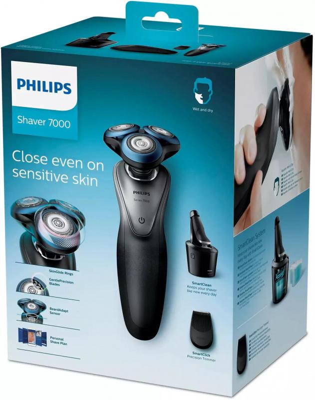 Philips Shaver series 7000 電鬚刨(連清潔座) S7970/26 防敏感系列
