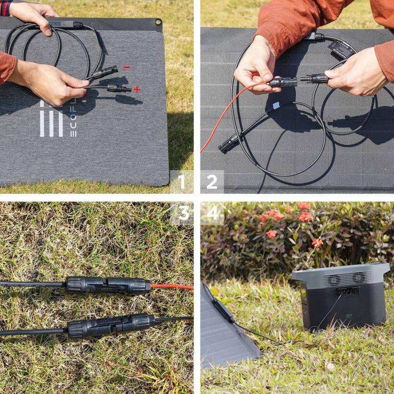 Ecoflow110W 太陽能充電板