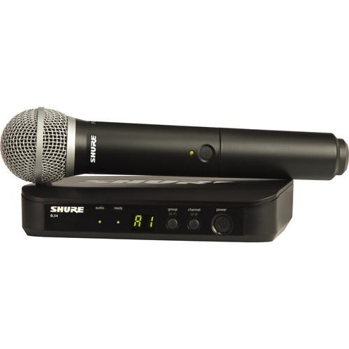 SHURE 手持式無線系統 BLX24/PG58🎤🎼